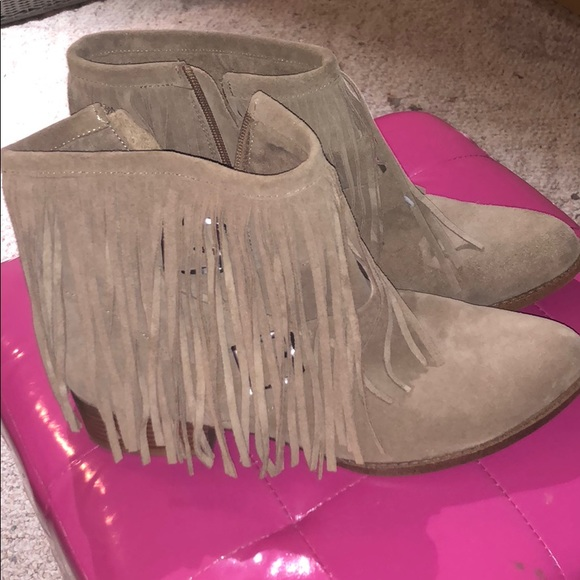 BCBGeneration Shoes - BCBG Fringe Ankle Boots